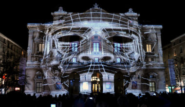 Audio Visual Prague - Video Mapping 1