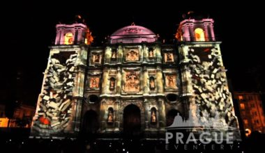 Audio Visual Prague - Video Mapping 2