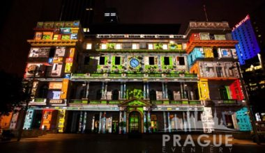 Audio Visual Prague - Video Mapping 4