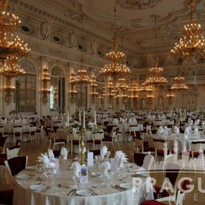 Prague gala venue - Prague Castle Spanish Hall 9