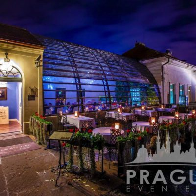 Stylish Restaurant Prague - Villa Richter 5