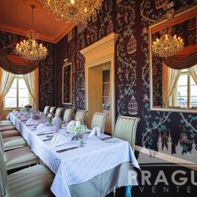 Stylish Restaurant Prague - Villa Richter 6