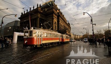 Historical Prague Trams 6