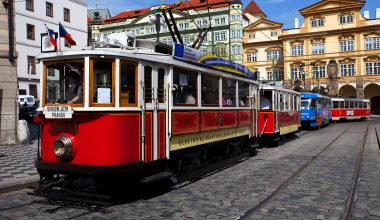 Historical Prague Trams 1