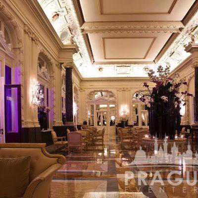 Prague Meeting Venue - Boscolo Bank Lobby 1