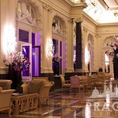 Prague Meeting Venue - Boscolo Bank Lobby 2