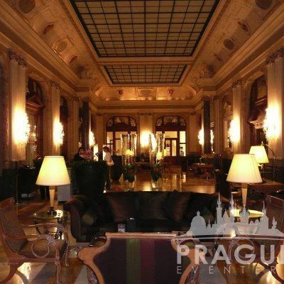 Prague Meeting Venue - Boscolo Bank Lobby 4