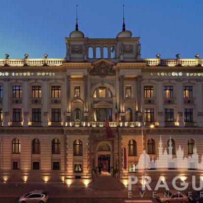 Prague Meeting Venue - Boscolo Bank Lobby 6