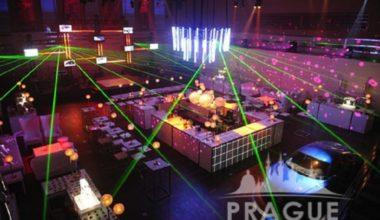 Prague AV services - Laser Show 1