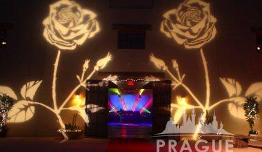 Prague Audio Visual Services - Gobo Lighting 3