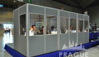 Prague Conference Translation - Translation Booths 3