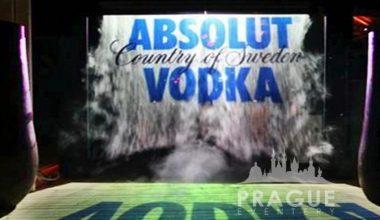 Prague Event Audio Visual - Fog Screen 2