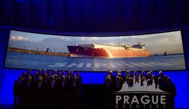 Prague Meeting Projection - Edge-Blending 2