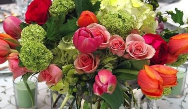 Prague Event Design - Flower Centerpieces 4