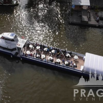Unique Prague Venue - Grand Bohemia Boat 4