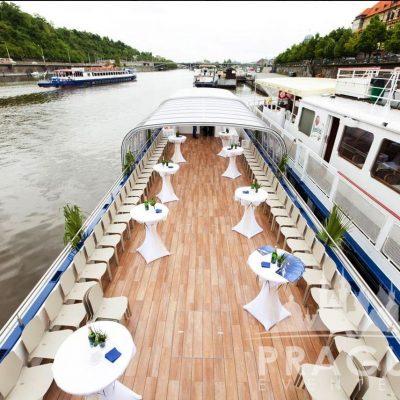 Unique Prague Venue - Grand Bohemia Boat 7