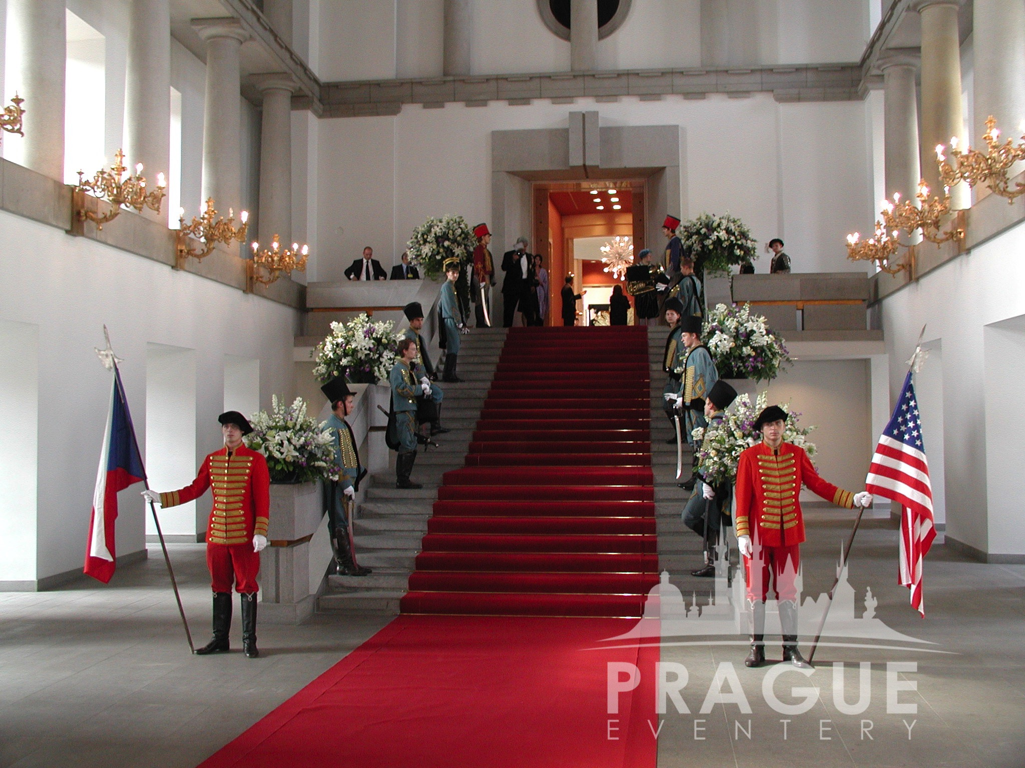 prague castle spanish hall - prague eventery - prague gala venue