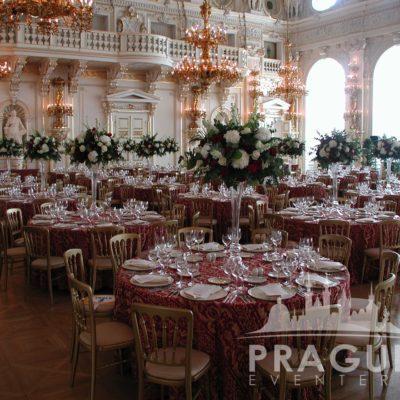 Prague gala venue - Prague Castle Spanish Hall 1