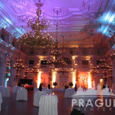 Prague gala venue - Prague Castle Spanish Hall 2