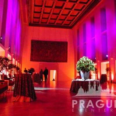 Prague gala venue - Prague Castle Spanish Hall 3