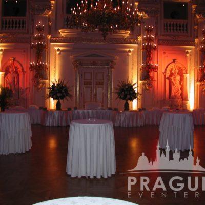 Prague gala venue - Prague Castle Spanish Hall 5