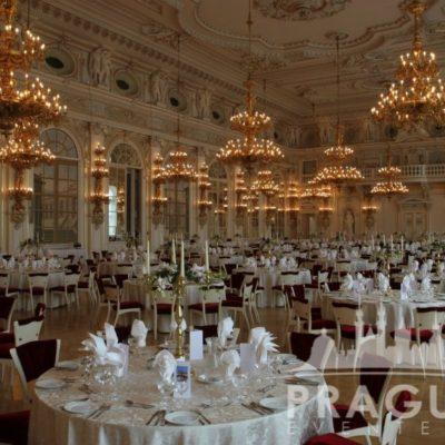 Prague gala venue - Prague Castle Spanish Hall 6