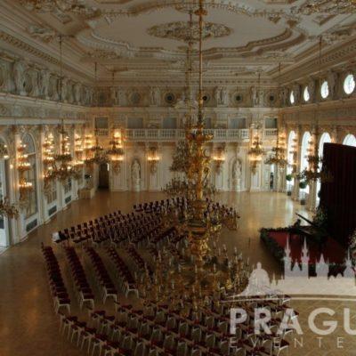 Prague gala venue - Prague Castle Spanish Hall 7
