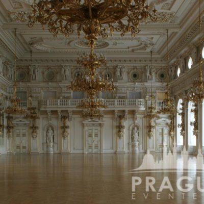 Prague gala venue - Prague Castle Spanish Hall 8