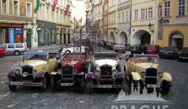 Group Transportation Prague - Antique Cars 2