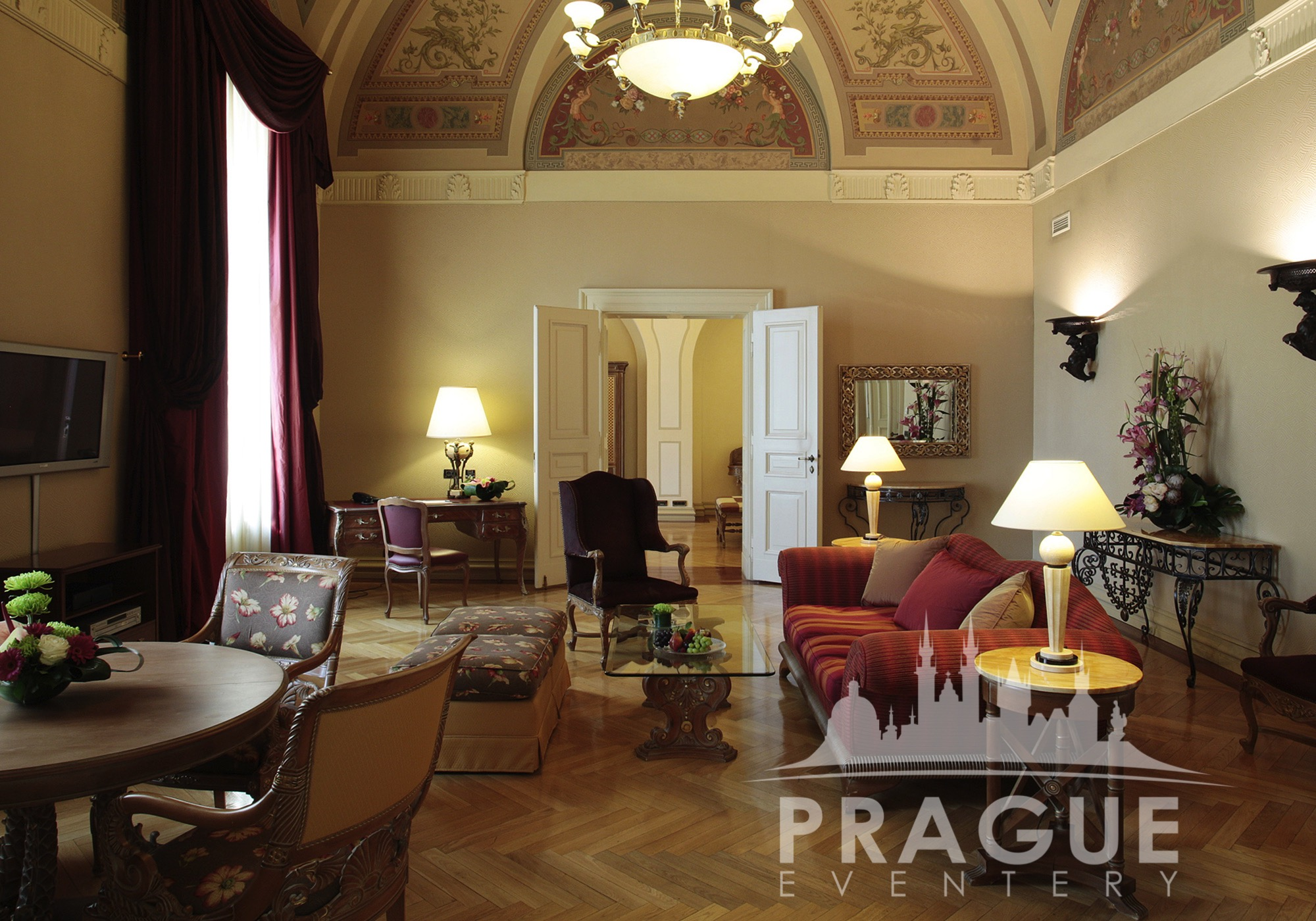 Boscolo hotel prague prague eventery congress hotel prague for Designer hotel prague