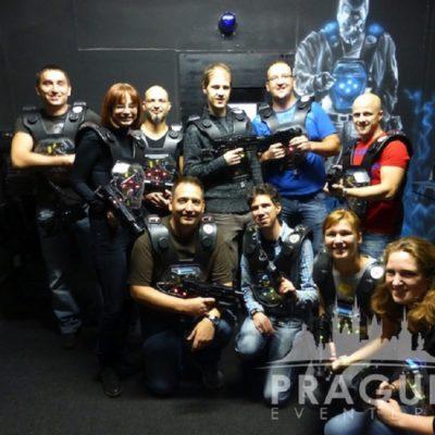 Corporate Teambuilding Prague - Laser Game 4