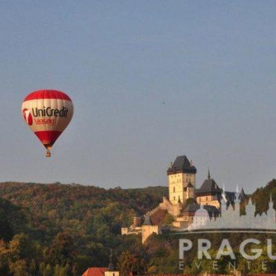 Prague Group Activities - Hot Air Balloon 9