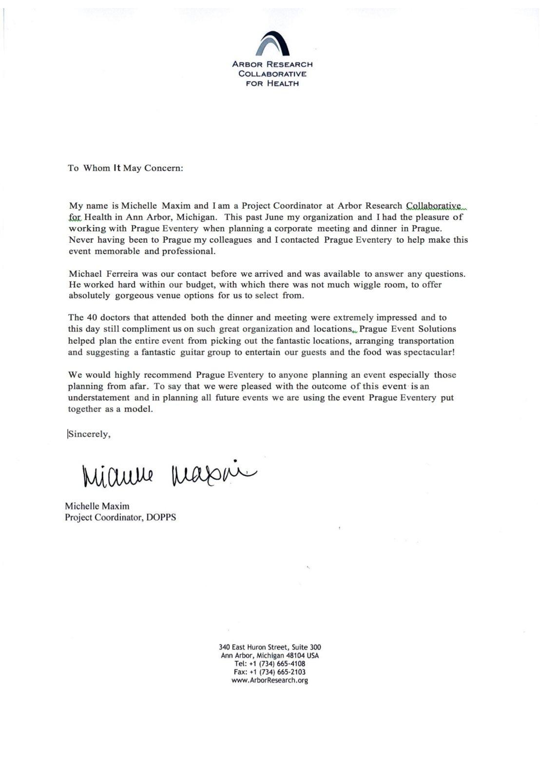 1 PE - DOPPS Letter