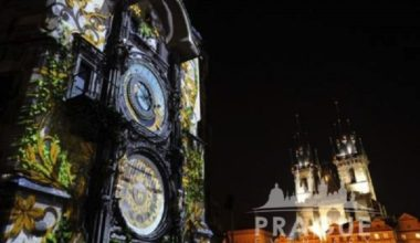 Audio Visual Prague - Video Mapping 3