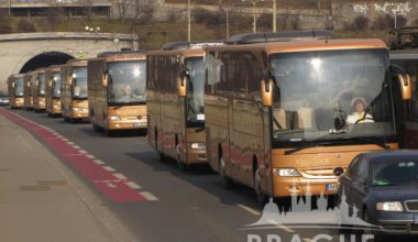 Conference transportation in Prague - Coaches 1