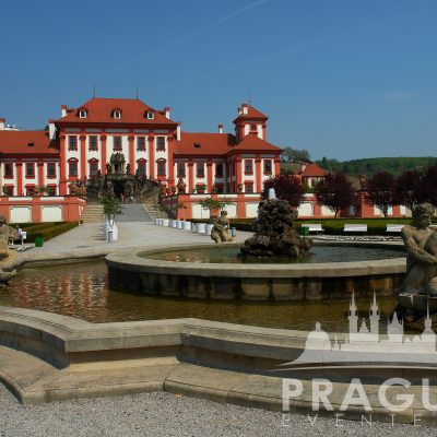 Venue Prague - Troja Chateau