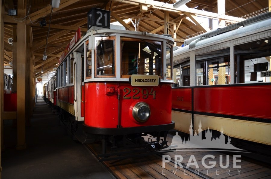 Historical Prague Trams 5