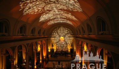 Prague Audio Visual Services - Gobo Lighting 1