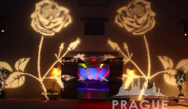 Prague Audio Visual Services - Gobo Lighting 3