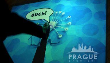 Prague Conference AV - Interactive Floor 2