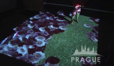 Prague Conference AV - Interactive Floor 3