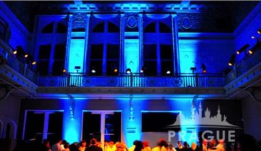 Prague Gala Lighting - Uplighting 2