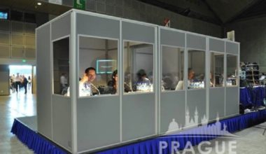 Prague Conference Translation - Translation Booths 3