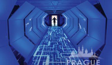 Prague Event Audio Visual Services - Interactive Entrance 1