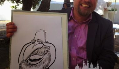 Prague Party Activities - Party Caricaturists 2