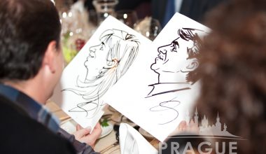 Prague Party Activities - Party Caricaturists 5