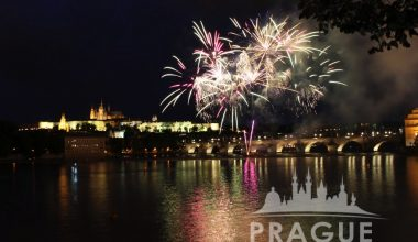 Prague Event - Fireworks 3