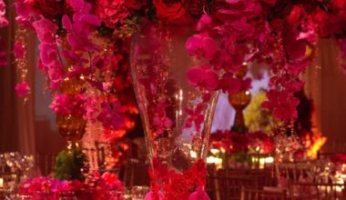 Prague Event Design - Flower Centerpieces 1