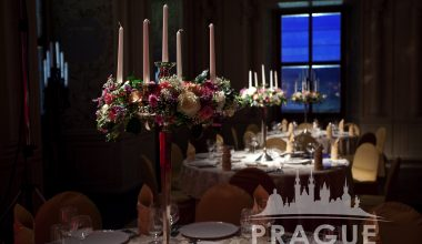 Prague Event Design - Flower Centerpieces 2