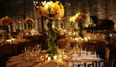 Prague Event Design - Flower Centerpieces 5